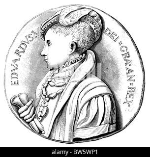 Edward I Coronation Stock Photo, Royalty Free Image