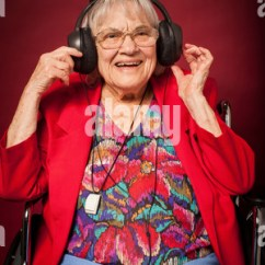Wheeled Beach Chair White Lounge Old Woman On A Wheelchair Looking Through Window Stock Photo, Royalty Free Image: 17076074 - Alamy
