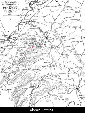 Battle Flodden 1513 Northumberland King James IV Solider