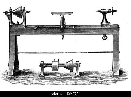 lathe, Work Tool, Lathe, Equipment, Old-fashioned