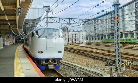 Haruka train. Osaka. Japan Stock Photo. Royalty Free Image: 60887460 - Alamy