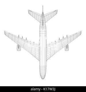 3 view aircraft line art drawing North American F-86 Sabre