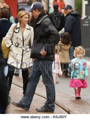 Greg Kinnear Helen Labdon and kids Greg Kinnear was