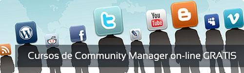 Curso de Community Manager gratis para trabajadores en activo On-line