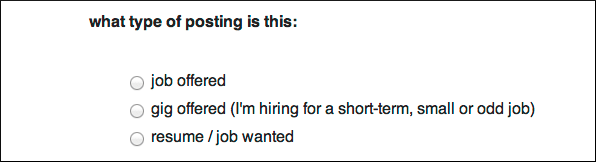 Craigslist Western Mass Job