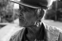 An old Lao gentleman who spoke very well French