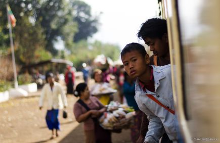 On The Train From Hsipaw To Mandalay