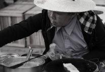 Street Food Vendor In Bhamo