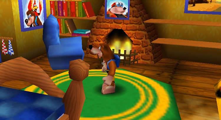 Banjo Kazooie house remade  N64 Squid
