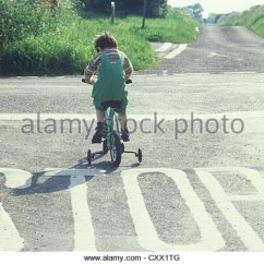Wooden Hand Chair Bali Double Folding Child Road Safety Danger Stock Photos & Images - Alamy