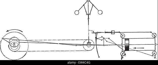 Steam Turbine Drawing Stock Photos & Steam Turbine Drawing