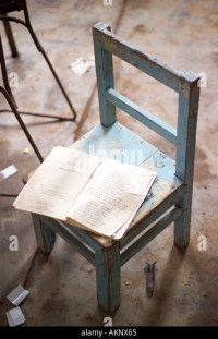 Abandoned School Chair Stock Photos & Abandoned School