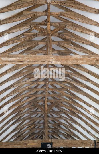 Wood Beam Ceiling Stock Photos & Wood Beam Ceiling Stock