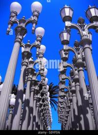 Lamp Post Los Angeles Stock Photos & Lamp Post Los Angeles ...