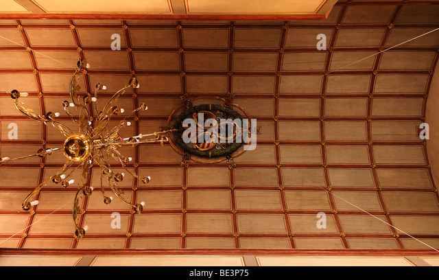 Coffered Ceiling Stock Photos & Coffered Ceiling Stock