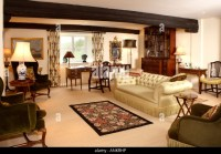 Traditional Style Living Room Stock Photos & Traditional