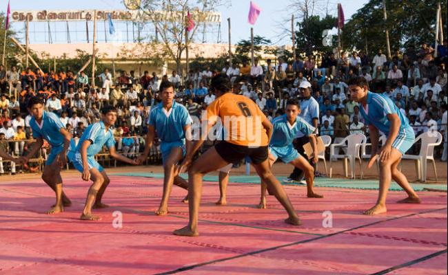 Kabaddi Players Stock Photos Kabaddi Players Stock