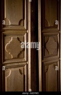 Old Cupboard Door Open Stock Photos & Old Cupboard Door ...