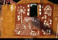 Warli Wall Painting Stock Photos & Warli Wall Painting ...