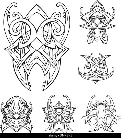 Vector Celtic Knots Stock Vector Illustration Of
