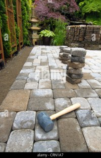 Sand Cement Mix For Patio Grouting. How To Install A ...