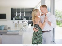 Couple Dancing In Living Room Stock Photos & Couple ...