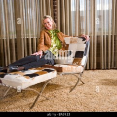 Habitat Dining Room Chair Covers Revolving Without Wheels Empty Nester Stock Photos & Images - Alamy