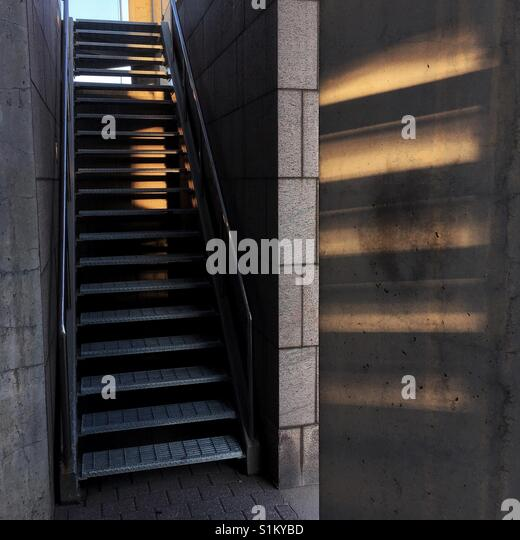 evac chair canada sesame street table and chairs emergency stairs stock photos & images - alamy