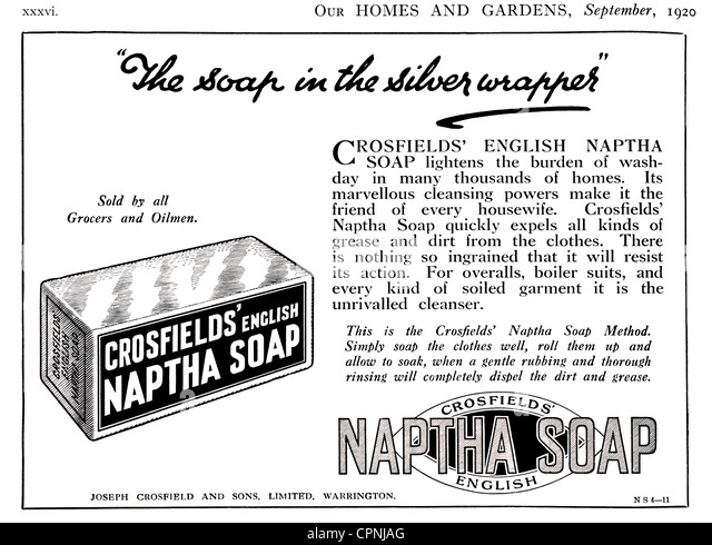Vintage Ad For Soap Stock Photos & Vintage Ad For Soap