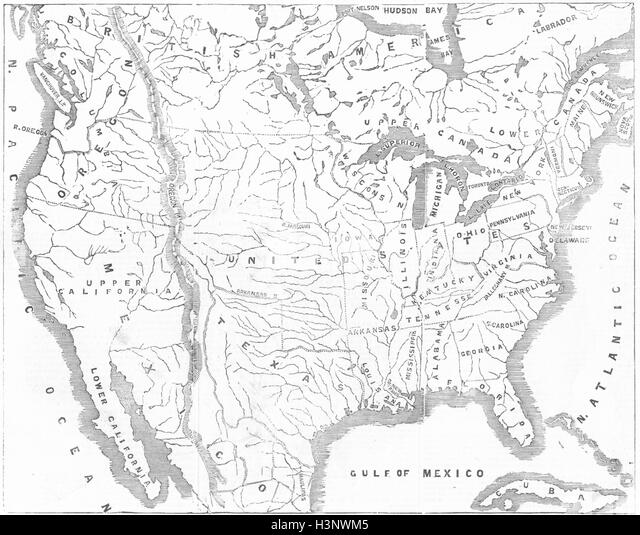 United States Map Outline Stock Illustration Illustration Of Idaho