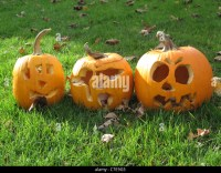 Carved Pumpkins Stock Photos & Carved Pumpkins Stock ...