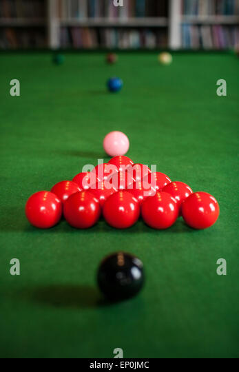 Snooker Table Stock Photos & Snooker Table Stock Images
