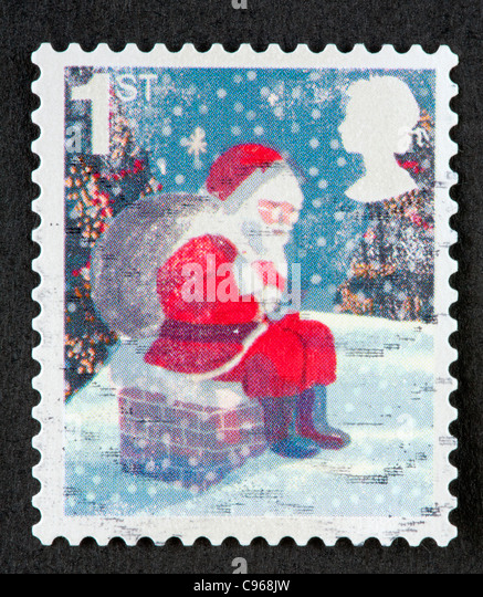 Christmas Stamps Uk Stock Photos Amp Christmas Stamps Uk