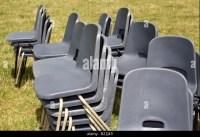 Plastic Chairs Uk Stock Photos & Plastic Chairs Uk Stock ...