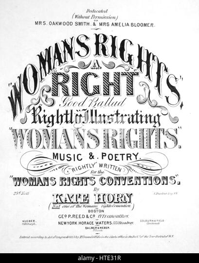 Womans Suffrage Stock Photos & Womans Suffrage Stock
