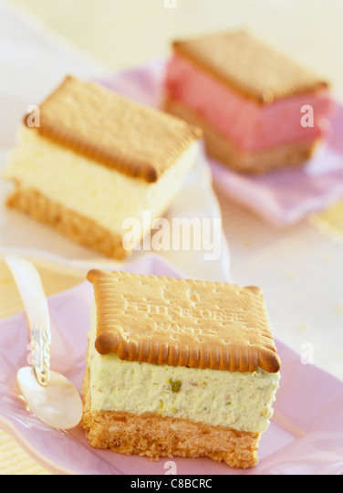 Three Layer Mousse Cake