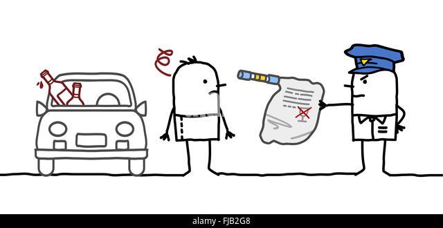 Man Driver Cartoon Stock Photos & Man Driver Cartoon Stock