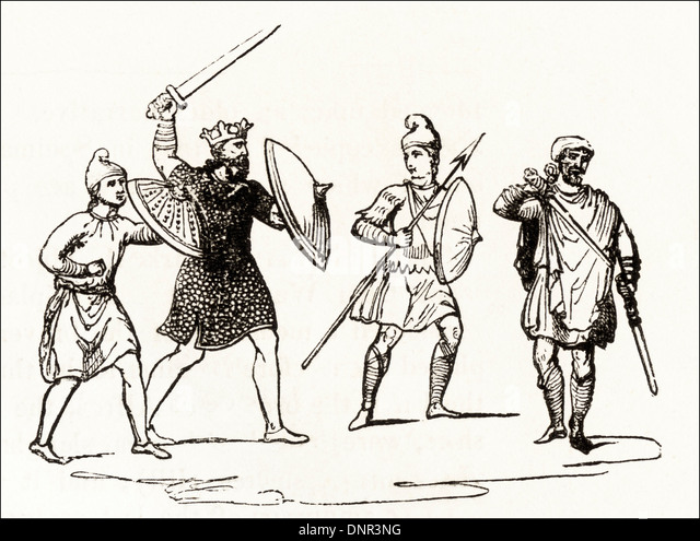 Illustration Of Victorian Soldiers Stock Photos