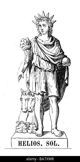 Statue Of Helios Stock Photos & Statue Of Helios Stock