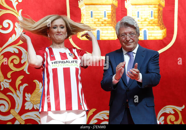 Atletico Madrids President Stock Photos Amp Atletico Madrids
