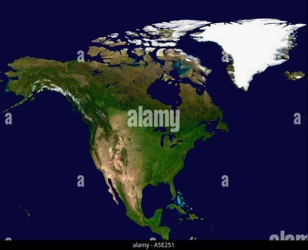 Earth From Space North America Stock Photos amp Earth From