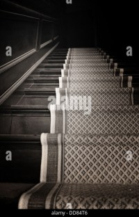 Old Stairway In Shadows Stock Photos & Old Stairway In ...