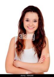 woman beauty hair copper stock