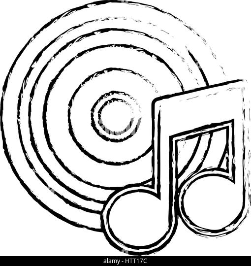 Record Player Coloring Pages