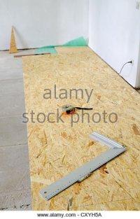 Chipboard Flooring Stock Photos & Chipboard Flooring Stock ...