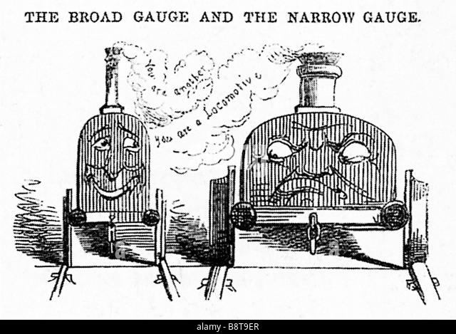 Broad Gauge Railway Stock Photos & Broad Gauge Railway