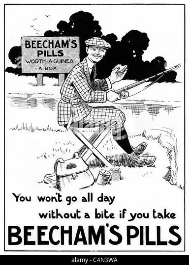 Vintage Medicine Ads Stock Photos & Vintage Medicine Ads