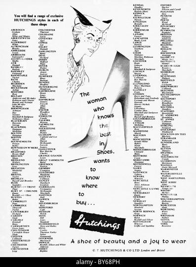 Ads 1950s Women Stock Photos & Ads 1950s Women Stock