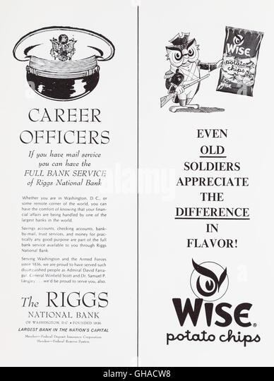 1960s Advertisement Stock Photos & 1960s Advertisement