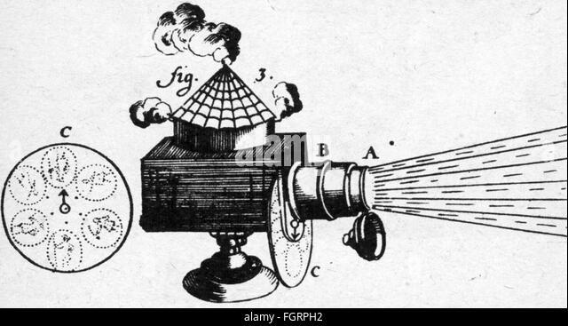 Magic Lantern Projector Stock Photos & Magic Lantern